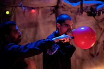 HGK FHNW - Mauricio Kagel's Acustica, Theater Basel 'Im Flow der Apokalypse' 2020 - © Hans-Peter Huser